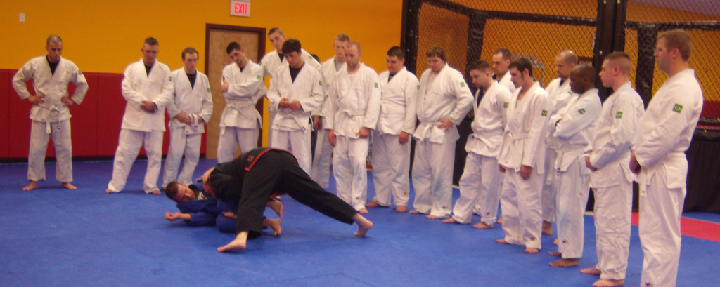 BJJ 2nd Degree Black Belt Allen J. Sachetti Teaching At Dauntless