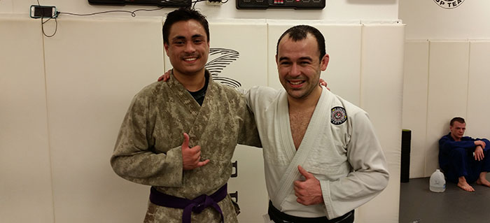 Josh Sachetti With Marcelo Garcia