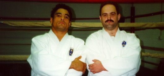 Trained Under Rickson Gracie 1994-2000